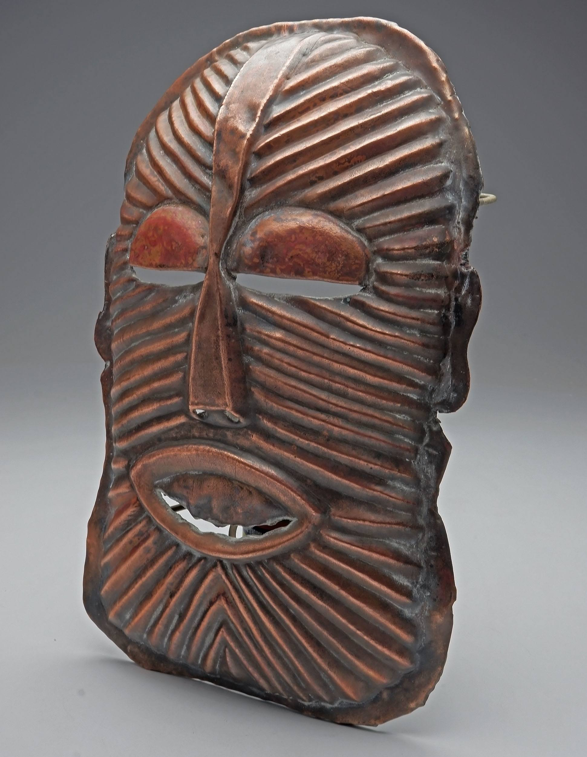 'Copper Mask, Chokwe Tribe, Eastern Zambia'