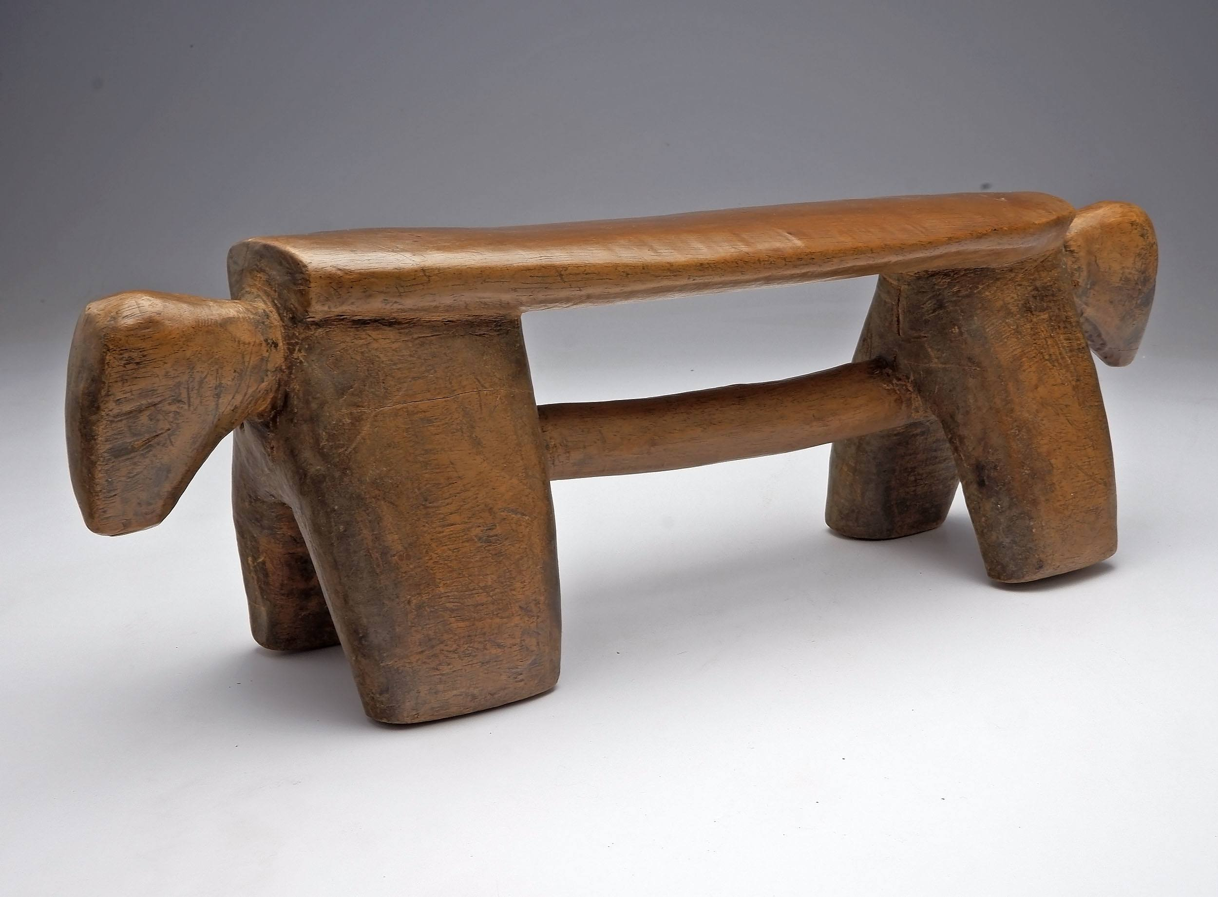 'Headrest in Zoomorphic Style, Dinka People, Nile Basin Region South Sudan'