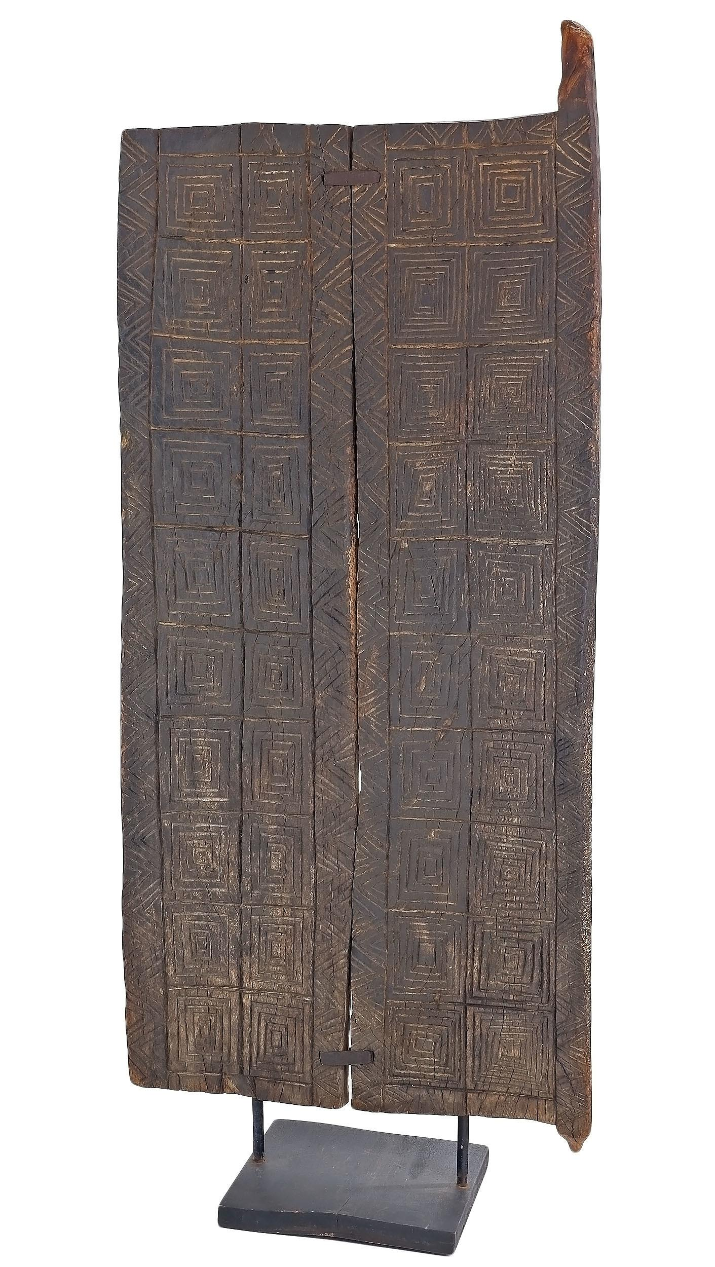 'Wooden Door, Dogon Tribe, Central Plateau Mali'