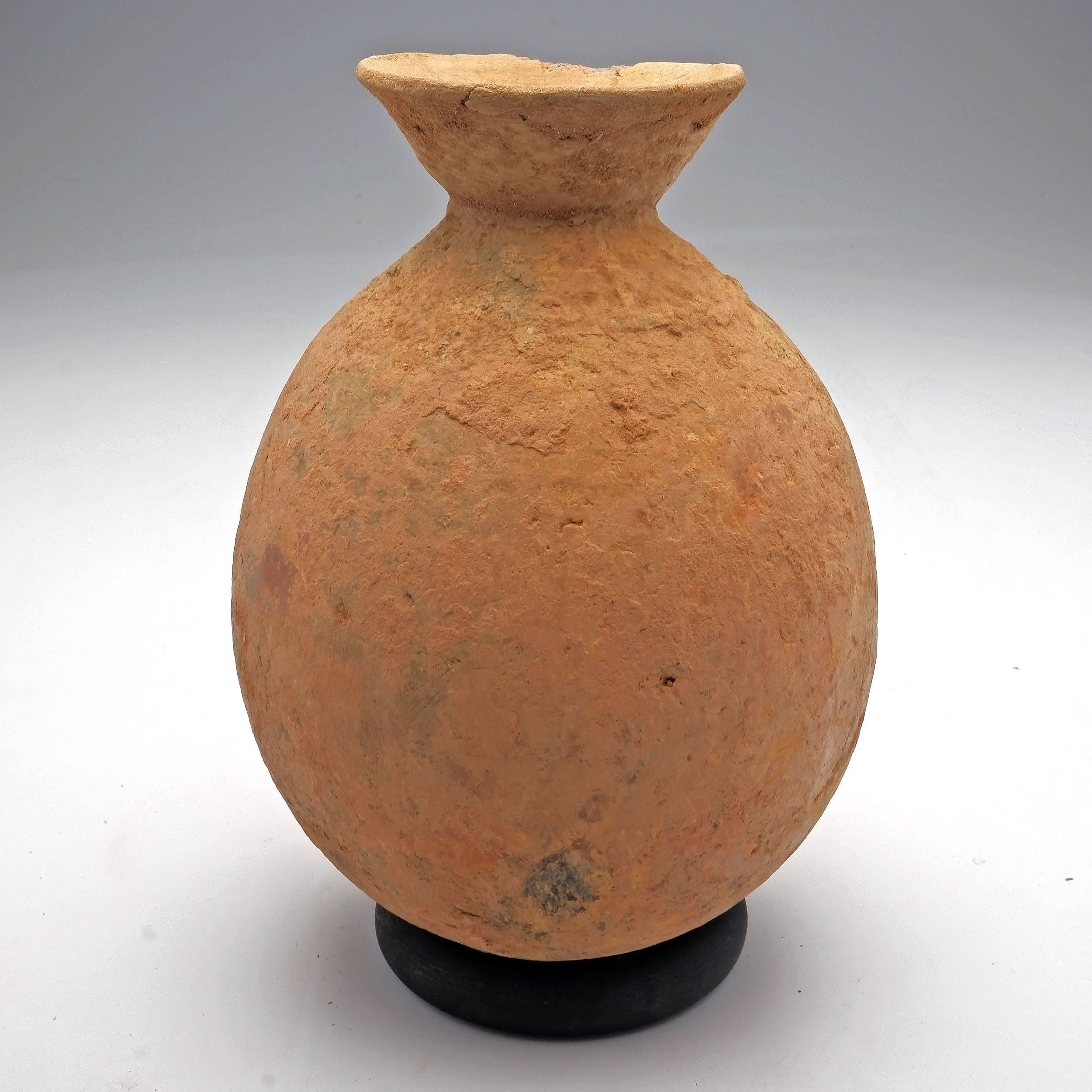 'Ceramic Pot, Fulani/Tuareg Tribe, Goundam Region Mali'