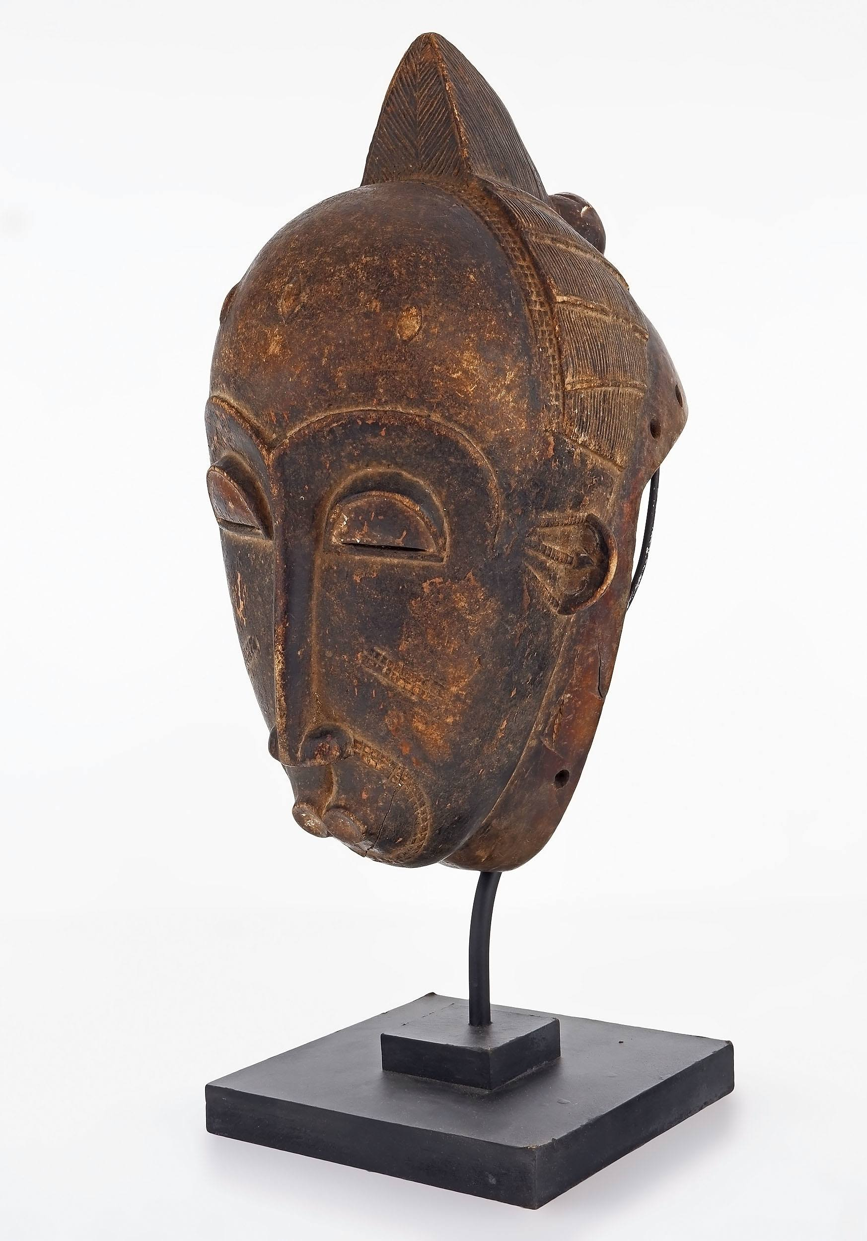 'Ceremonial Mask, Senufo Tribe, Northern Ivory Coast'