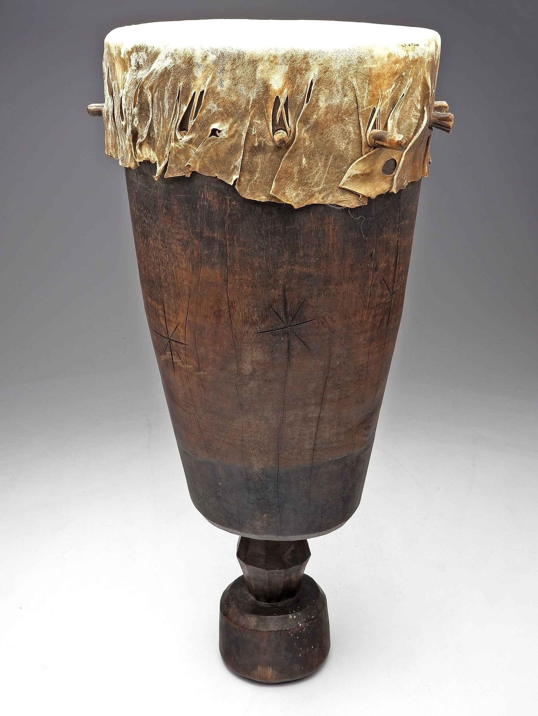 'Ceremonial Wedding Drum, Makonde Tribe, South East Tanzania'