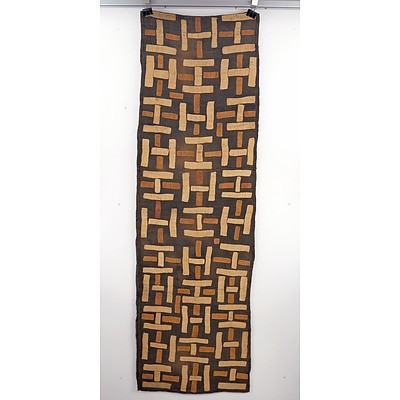 Cloth, Kuba/Shoowa Tribe, Democratic Republic of Congo