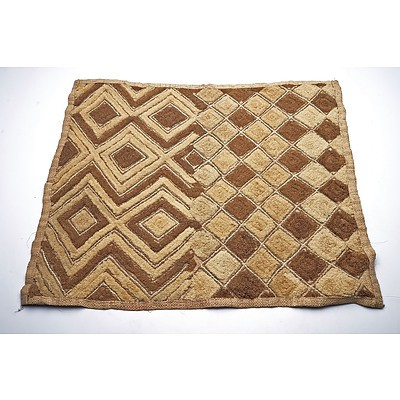 Cloth, Kuba/Shoowa Tribe, Democratic Republic of Congo