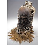Kete Mask, Kuba People, South East Democratic Republic of Congo, Ex Vittorino Meneghelli Collection