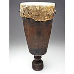 Ceremonial Wedding Drum, Makonde Tribe, South East Tanzania