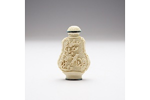 Chinese Imitation Ivory Snuff Bottle