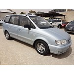 5/2006 Hyundai Trajet V6 2.7  4d Wagon Silver 2.7L