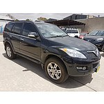 6/2012 Great Wall X200 (4x4) CC6461KY MY11 4d Wagon Black 2.0L