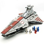 Star Wars Lego 8039 Venator Class Republic Attack Cruiser