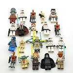 Twenty Star Wars Lego Figures, Including Yoda, General Grievous and More
