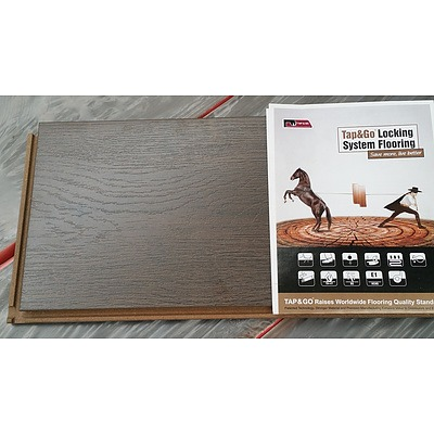 First Class Wood Flooring Co. Denver Wenge Laminate Flooring - 7.8012 Square Meters - Brand New