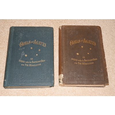 Two Copies, Bartley, Opals and Agates, Gordon & Gotch, 1892