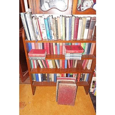 Various Shelves of Books, Sheet Music Etc