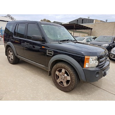 11/2005 Land Rover Discovery 3 SE  4d Wagon Blue 4.0L