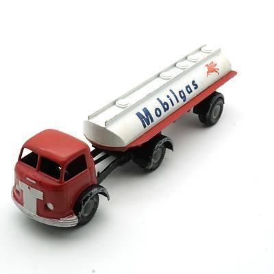 Vintage Micro Commer Mobilgas Tanker