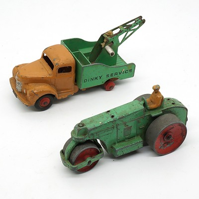Vintage English Dinky Toys Avaling Barford and Dinky Toys Commer