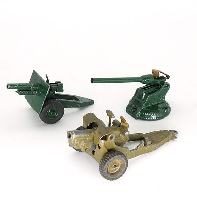 Group of Vintage Metal Toys, Including Britain's Ltd No 641319 and More
