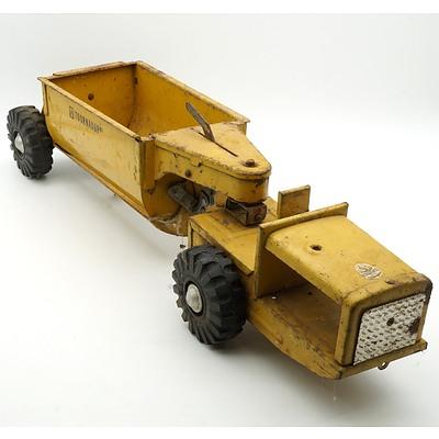 Vintage Australian Boomaroo Toys Dump Truck
