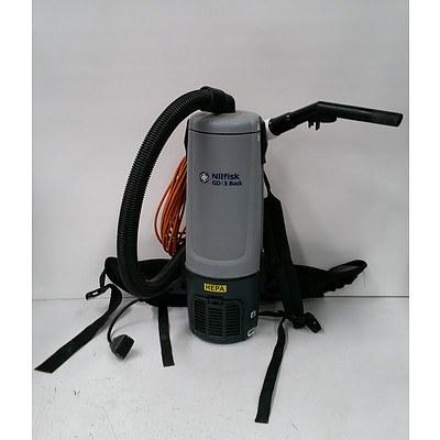 Nilfisk 'GD 5 Back' Backpack Vacuum Cleaner