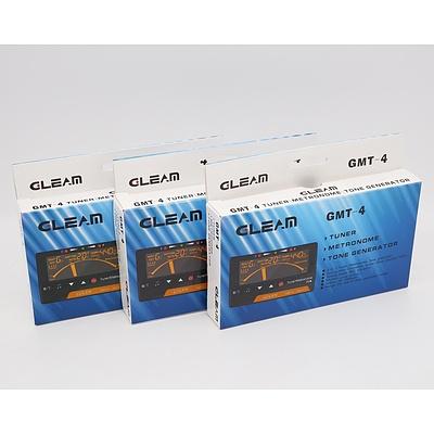 Lot of Three Gleam GMT-4 Multi function Tuner - Brand New