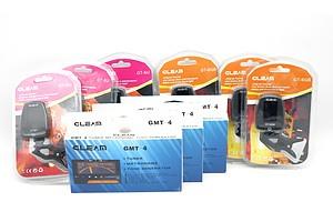 Lot of Nine Guitar Tuners Including Gleam GT-6GB, Gleam GT-6U and Gleam GMT-4 - Brand New