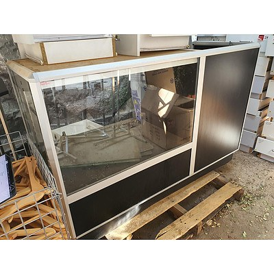 Glass Retail Counter/Display - Lot of 2