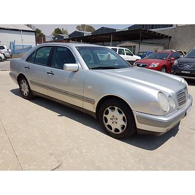 7/1997 Mercedes-Benz E320 Elegance W210 4d Sedan Silver 3.2L
