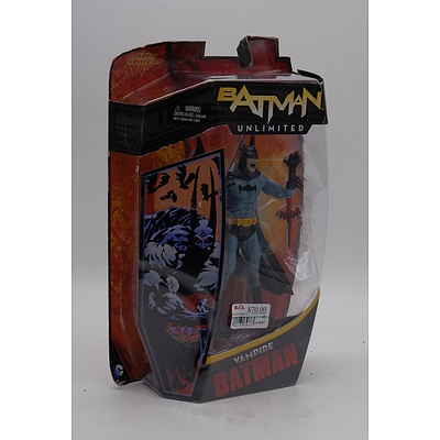 Batman Unlimited - Vampire Batman - Action Figure Collectible