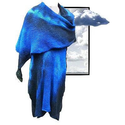 Nullarbor Nights Knitwear Merino Wool Wrap