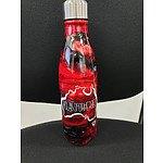 Customised drink bottle with #SLABSFORHEROES logo II