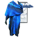 Nullarbor Nights Knitwear Merino Wool Wrap