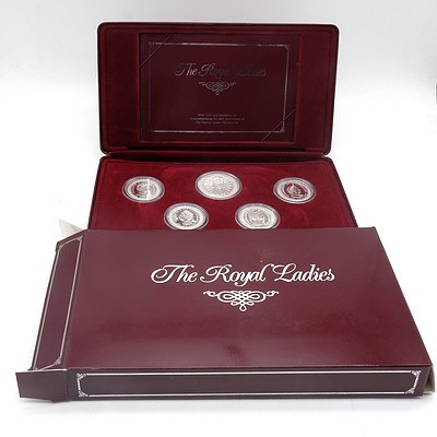 RAM The Royal Ladies, Silver Coin and Medallion Set Commemorating the 40th Anniversary of Her Majesty Queen Elizabeth II