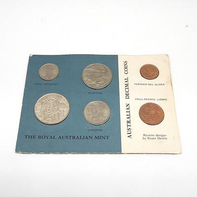 1966 Royal Australian Mint Six Coin Decimal Set