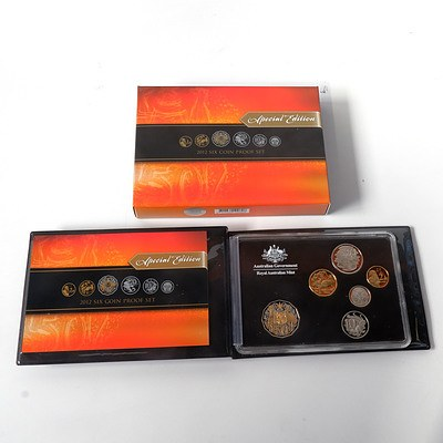 RAM 2012 Special Edition Six Coin Proof Set