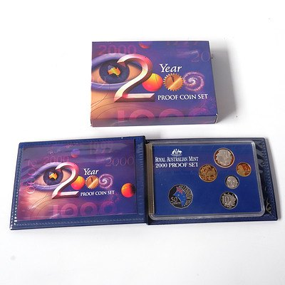 RAM Year 2000 Six Coin Proof Set