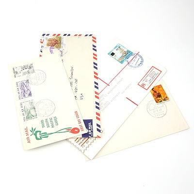 Four 1969-1991 Collection of Covers from Papua New Guinea