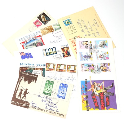 Seven 1949-1994 Collection of Covers from New Zealand
