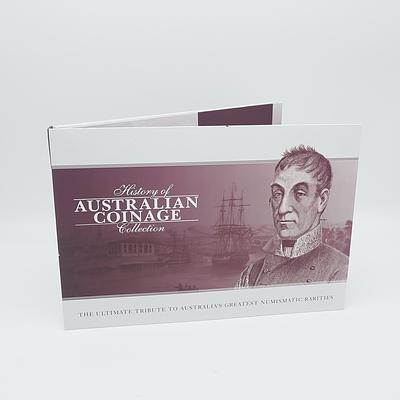 Macquarie Mint, History of Australian Coinage Collection - The Evolution of Australian Coinage Captured in Precious Metals, with Six Coins