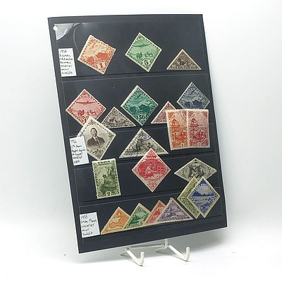 1934 Airmail Stamps, 1934 Local Motifs 'Registered' Stamps and More