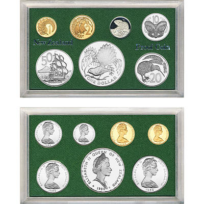 Nz: Proof Set 1980
