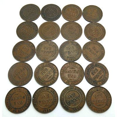 Australian Penny Collection-King George V (1911-1936)