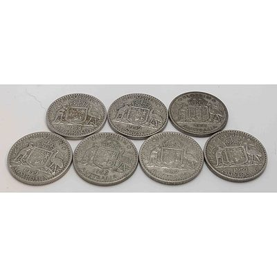 Australia: Silver Florin Collection