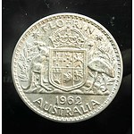 Australia: Silver Florin 1962