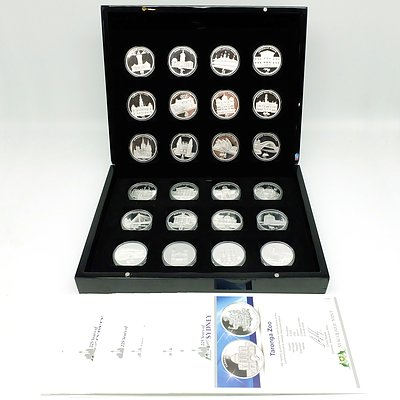 Maquarie Mint 225 Years of Sydney Collection, 24 Prooflike Coins