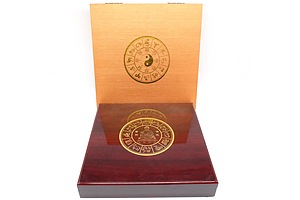 Maquarie Mint Chinese Lunar Zodiac Collection, 13 Piece Gold Plate