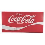 Large Tin Coca Cola Sign