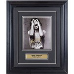 Signed Mick Jagger Photograph in Presentation Frame