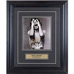 Signed Mick Jagger Photograph in Presentation Frame
