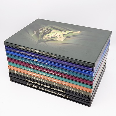 The Collection of Australian Stamps Volumes 1990-1999 Includes Stamps